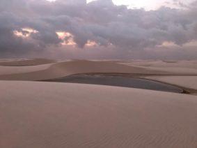 Au Brésil, le parc des Lençois mélange le désert et la lagune… Brésil, parc de…