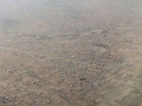Une photo différente : Kaboul vu d'avion, avant l'atterrissage. Merci Valérie (O…