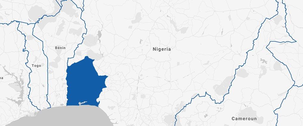 Zone sud-Ouest Nigeria